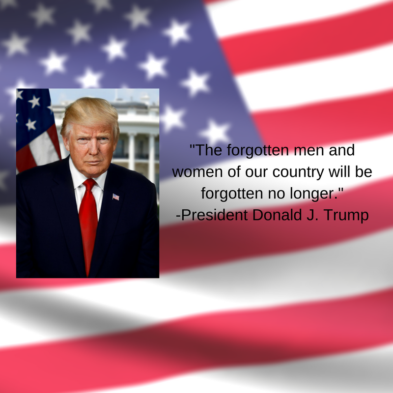 Donald Trump inauguration quote