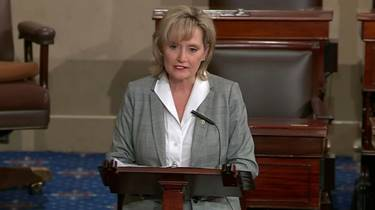 Hyde-Smith talks flooding in maiden speech to Congress