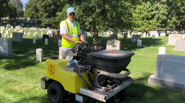 Renewal and Remembrance: Ole Miss Landscape Director spends Day of Service at Arlington National Cemetery