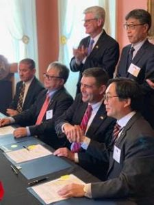 Taiwan delegation signs Letters of Intent to purchase Mississippi crops