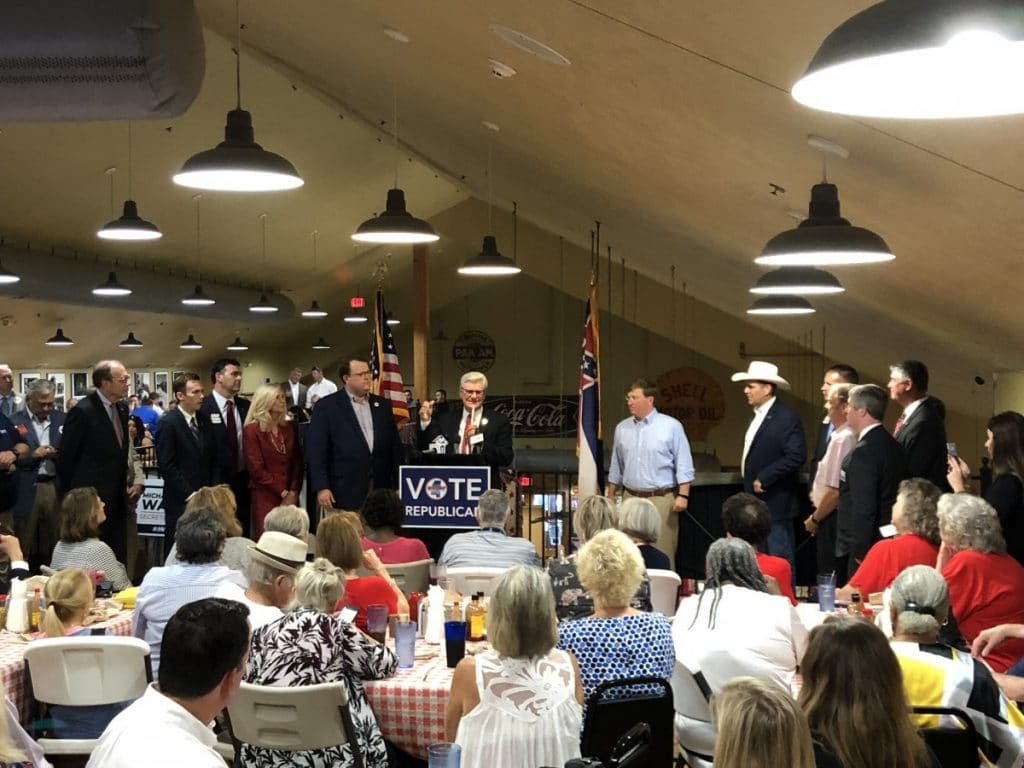 GOP holds kickoff event as party turns attention to November